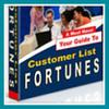Thumbnail Customer List Fortunes  building a goldmine website