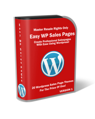 Product picture Easy WP Sales Pages