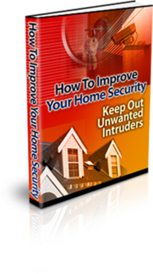Product picture How to Improve Your Home Security - protect your home