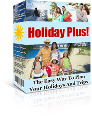 Product picture Holiday Plus - planing holidays and trips