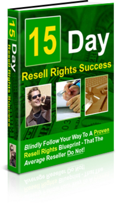 Product picture 15 day resell right success