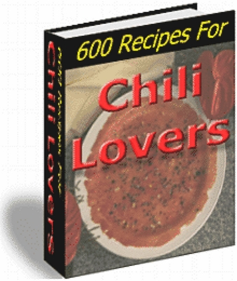 Product picture 600 Chilli Recipes