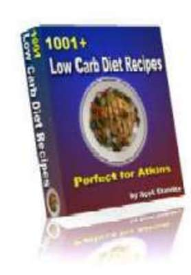 Product picture 1001 Low Carb Diet Recipes