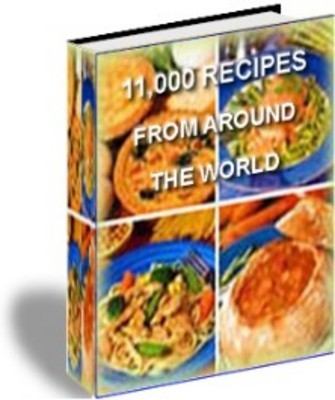 Product picture Over 11000 Recipes From Around The World