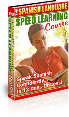 Product picture The Spanish Language Speed Learning Course