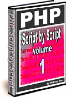 Product picture PHP Script by Script VOLUME ONE